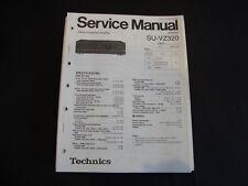 ORIGINAL SERVICE MANUAL TECHNICS Amplifier su-vz320