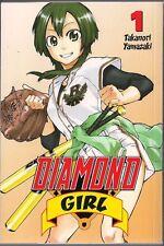 DIAMOND GIRL VOL 1 CMX SC MANGA TPB STAR FEMALE BASEBALL PLAYER COMEDY TEEN NEW