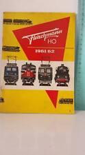 Fleischmann Katalog von 1961/62 CATALOGO VINTAGE ORIGINALE
