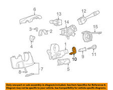 GM OEM Steering Column-Antitheft Module 25807440