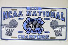 2005 UNC National Champions  - New Car TAG NOS Wrapped in the original plastic