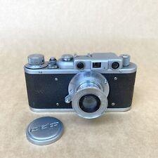 FED 1-b Vintage 35mm Rangefinder Film Camera (#28406) W/ 50mm 1:3.5 Lens - NICE