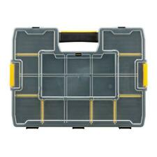 15-Compartment Tool Carrying Case Small Parts Organizer Adjustable Storage Screw