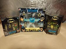 NEW LOT, Batman Animated Series 4 Pack Gotham City, Batman&Robin, Garden of Evil