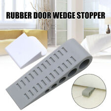 Safety Home Premium Door Stop Stopper Heavy Duty Flexible Rubber Wedge Doorstop