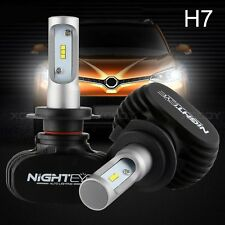 Nighteye H7 LED Headlight 8000LM Conversion Kit 6500K-Replace Halogen Xenon Bulb