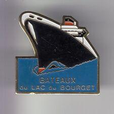 RARE PINS PIN'S .. BATEAU NAVIRE BOAT SHIP PAQUEBOT CROISIERE LAC BOURGET 73 ~DE