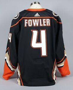 2019-20 Cam Fowler Anaheim Ducks Game Worn Home Black Jersey Set 3