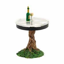 Miniature Fairy Garden Dept 56 My Garden Table w/ Wine & Glass - Buy 3 Save $5