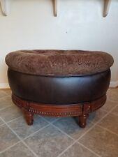 Fantastic Tufted Ottoman For Sale Ebay Spiritservingveterans Wood Chair Design Ideas Spiritservingveteransorg