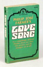 PHILIP JOSE FARMER SIGNED FIRST EDITION 1970 LOVE SONG PAPERBACK ORIGINAL PBO