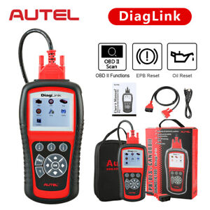 Autel Diaglink OBD2 Car Full Systems Diagnostic Scan Tool Oil/EPB Reset Scanner