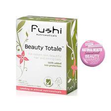 Piel Cabello Uñas Fushi belleza Totale & Protección UV 500mg 60 Caps