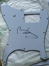 QUEEN  personally signed Fender style scratch plate - BRIAN MAY