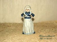 ANTIQUE 1930's DUTCH GIRL BISQUE PORCELAIN TRADITIONAL DRESS 6'' AS IS DOLL