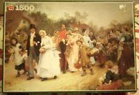 Jumbo The Village Wedding Jigsaw Puzzle 1500 piece Complete Rare Sir Luke Fildes