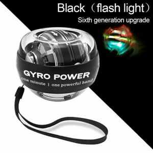 High Quality Self-Start Power Ball Gyroscope Wrist Arm Force Exercise With Light