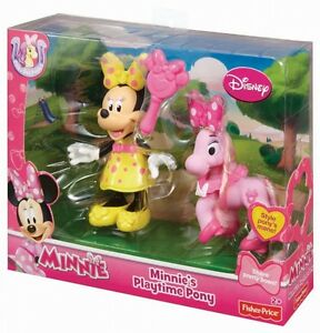 Disney Fisher-Price Minnie's Playtime Pony Toy (Multi-Colour) 5 inch Figure N...