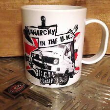 Vanarcy in the UK plastic camping mug cup vw t25 wedge mug