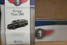 ATLAS EDITIONS 4642523 / 4642123  KRUPP TITAN 080  BUS   rare   1:72 scale