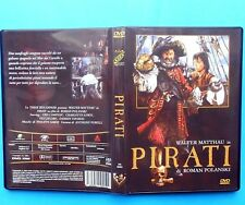 film dvd movie pirati pirates roman polanski walter matthau charlotte lewis v f