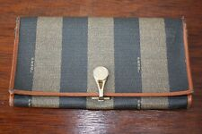 Vintage Fendi Roma Striped Wallet