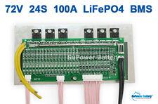 72V 100A LiFePo4 Battery BMS LFP PCM SMT System 24S 24x 3.2V eBike Battery 24x3V