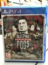 Sleeping Dogs Definitive Edition UK PS4 NUOVO