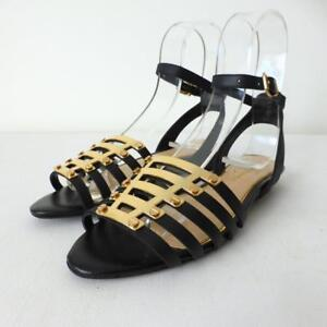 JESSICA SIMPSON Women's Shoes NEW Leather Open Toe Sandals Size 8M 38