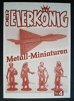 Der Eierkönig Nr.4 Metall Miniaturen im Überraschungsei Metallfiguren Magazin