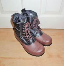 BNIB Hunter Original womens quilted lace up short wellington boots size UK 4