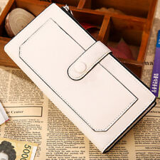 Women Leather  Wallet Clutch Card Holder Long Cute Pocket Handbag  Female Purse