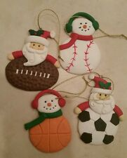 ONE NEW Sport Christmas Ornament- Can Be Personalized Too!!