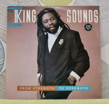KING SOUNDS - From Strength To Strength [Vinyl LP,1987] USA Import VZLP 001 *EXC