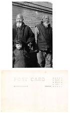 C4315) CHINA CUSTOM, OLD MEN AND GIRL.