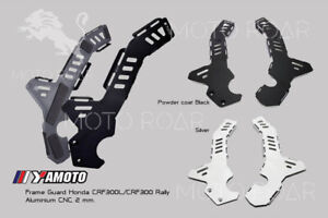 Honda CRF300L CRF300Rally 2021 Frame Guard Aluminium 2 mm