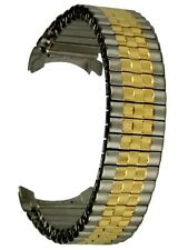 Osco Flex-band gorros de acero inoxidable bicolor steg anchura 20 mm uhrband