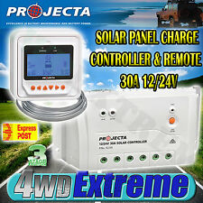 PROJECTA SC330D NEW 12V & 24V 30AMP SOLAR PANEL CHARGE CONTROLLER & REMOTE LVD
