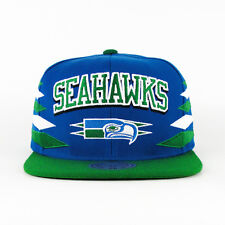Mitchell & Ness NFL Seattle SeaHawks 2 Tone Diamond Team Retro Snapback Cap Hat