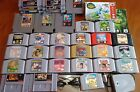 ツREAD! YOU PICK GAMES LOT Nintendo Atari Sega (Min.order $88 including shipping)