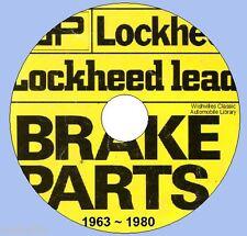Lockheed Brake Parts  iNFORMATION dvd circa 1963~1980
