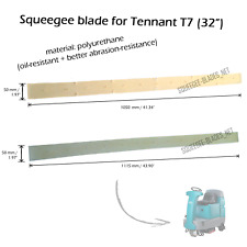 "Squeegee blade set for Tennant T7 (32"") (PU) - FREE WORLDWIDE SHIPPING!"