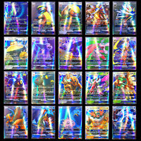20pcs Pokemon GX Cards English Pokémon TCG Trading Card Game Charizard Venusaur