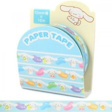 Cinnamoroll Cinnamon Paper Masking Seal Roll Tape Sticker Stationary Japan O1039
