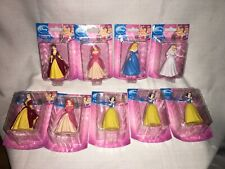 9 Disney Princesses Figurines CAKE TOPPERS Cinderella Belle Snow White Ariel NEW
