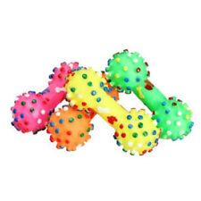 FT- Dog Puppy Resistant Bite Bone Molars Teeth Gum Rubber Ball Chew Play TPR Pet