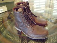 Faded Glory Men's Casual High Ankle Boots Size 8.0 m Brown