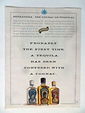 1994 Print Ad Herradura Tequila ~ The First Time Tequila Confused With a Cognac