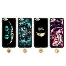 Alice The Cheshire Cat Case For iPhone X Xs Max Xr 8 7 6 Galaxy S9 S8 S7 Edge