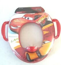 Disney Cars Soft Potty Toilet Training Seat with Soft Pad for Boys